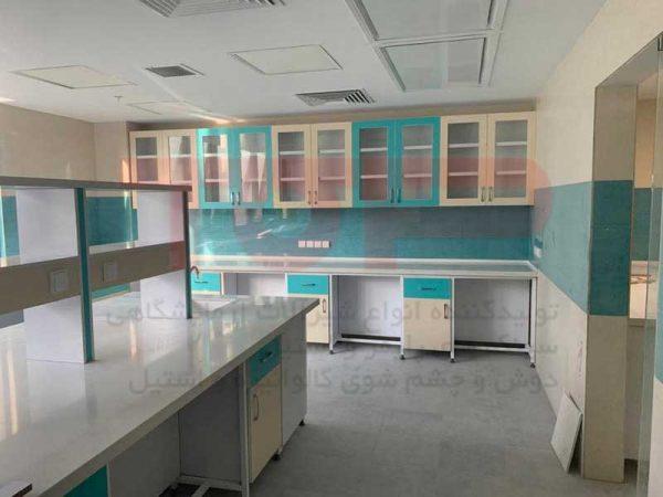 کابینت آزمایشگاهی تولیدی تاپ