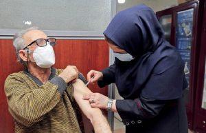 ثبتنام واکسیناسیون کرونای افراد بالای ۶۰ سال در تهران